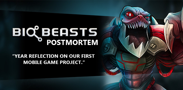 BioBeasts Postmortem - Year reflection on our first mobile game project
